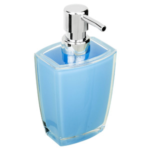 Porta Sabonete Líquido 270ml Acrílico Fun Azul