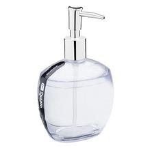 Porta Sabonete Líquido 300ml Plástico Oval Spoom Cristal