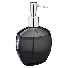 Porta Sabonete Líquido 300ml Plástico Oval Spoom Fumê