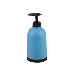 Porta Sabonete Líquido Azul e Preto em Plástico Joy Importado
