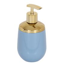 Porta Sabonete Líquido Azul em Plástico Confort Belly Ou
