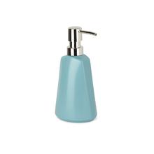 Porta Sabonete Líquido Cerâmica Ava Blue 325ml Sensea