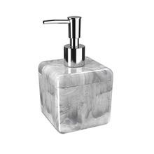 Porta Sabonete Líquido Mármore em Plástico Cube Coza