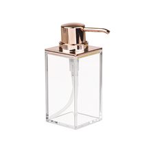 Porta Sabonete Líquido Plástico 295ml Clarity Rose Interdesign