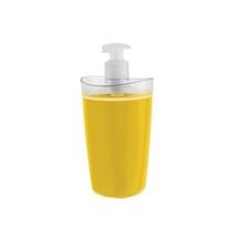Porta Sabonete Líquido Plástico Tule Amarelo 260ml OU