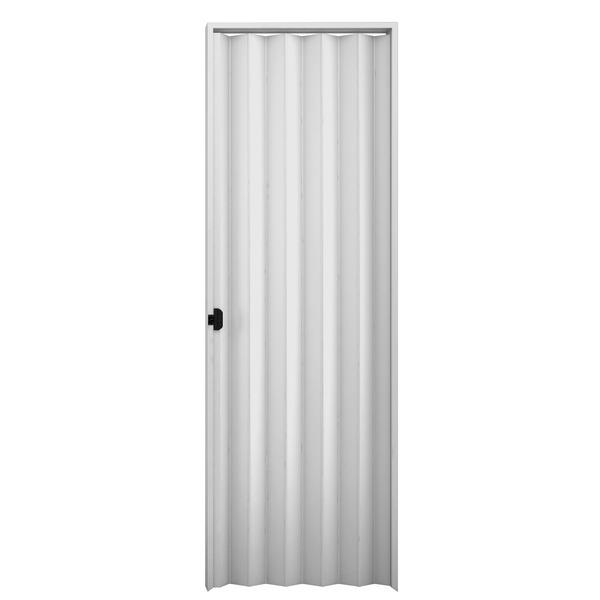 Porta sanfonada lisa pl stico pvc ambos os lados 2 1x1m - Porta pvc leroy merlin ...