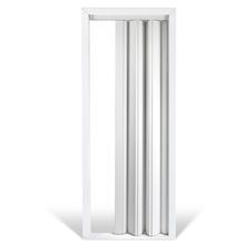 Porta Sanfonada MDF 210x80cm Branco Iceland Ecoidea