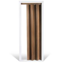 Porta Sanfonada MDF 210x80cm Nogal Sevilha Ecoidea