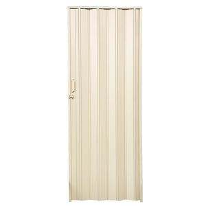 Porta Sanfonada Prática PVC Areia 210 x 96 cm