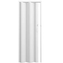 Porta Sanfonada Lisa Plástico PVC Branca 2,1x0,6m Permatti