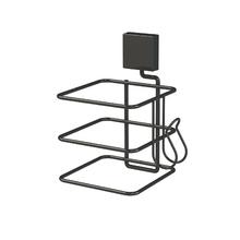 Porta Secador de Cabelo Parede Metal e Plástico Outline Future