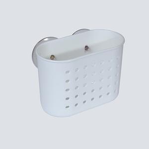 Porta Shampoo Branco Plástico