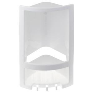 Porta Shampoo Canto Simples 38x23x14cm Branco
