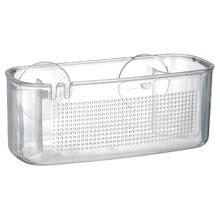 Porta Shampoo P S Cristal Transparente Pendurar Arthi