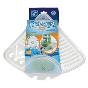 Porta Shampoo Plástico Transparente Pendurar Arthi