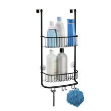 Porta Shampoo Reto Metal Industrial Interdesign