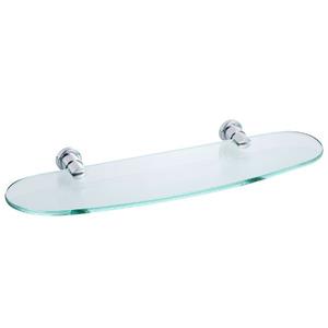 Porta Shampoo Reto Simples Casual 3,50x45,50x14 cm Prata