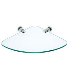 Porta Shampoo Reto Simples 3,50x28x25,30cm Transparente