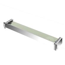 592317faa9f1e Porta Shampoo Reto Simples com Saboneteira Parafuso Metal Prata  7X53,7X10,4cm Onix Fani