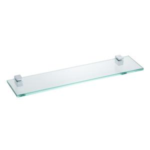 Porta Shampoo Reto Simples 0,90x40x10cm Prata