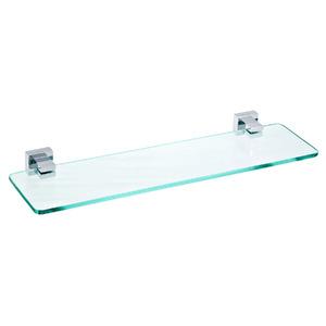 Porta Shampoo Reto Simples 5x50x12,50cm Transparente