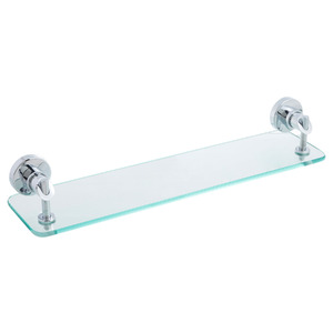 Porta Shampoo Reto Simples 9,50x50x13,50cm Transparente