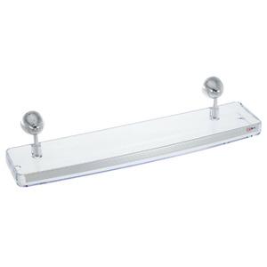 Porta Shampoo Reto Simples 45x11x8,50cm Incolor
