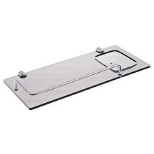 Porta Shampoo Reto Simples 3,50x33x15,50cm Fumê