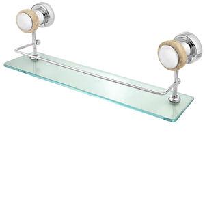 Porta Shampoo Simples Met Saturno 5007CR/T