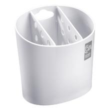 Porta Talheres Plástico Branco Brinox