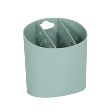 Porta Talheres Plástico Verde Comfort Zone