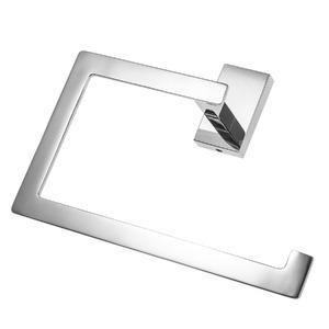 Porta Toalha Banho Barra Perfetto 16x21x7cm Prata