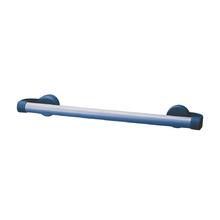 Porta Toalha Banho Plástico Azul Arthi