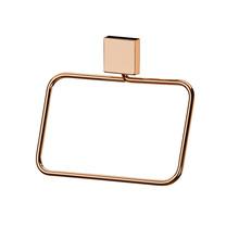 Porta Toalha Rosto  Metal e Plástico Argola Baroque Future