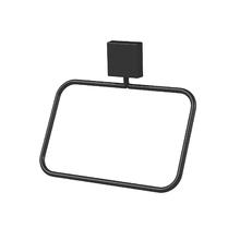 Porta Toalha Rosto  Metal e Plástico Argola Outline Future
