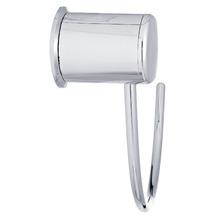 Porta Toalha Rosto Argola Fit 20x20x7cm Prata