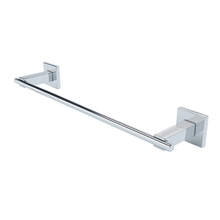 Porta Toalha Rosto e Banho Metal 35,5cm Atrio Prata