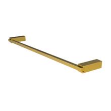 Porta Toalha Rosto e Banho Metal 51,5cm Gold Quartzo