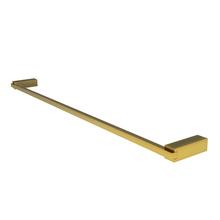 Porta Toalha Rosto e Banho Metal 67cm Gold Quartzo