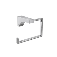 Porta Toalha Rosto Metal Argola 12cm Liv Deca