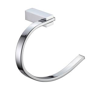 Porta Toalha Rosto Metal Cromado Gancho 800 Sicmol