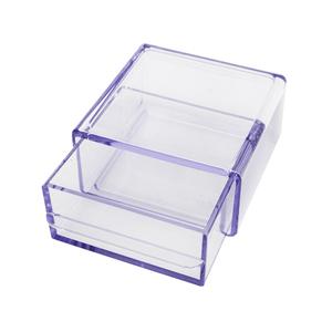 Porta Treco Plástico Cristal 5,5x10,5x11