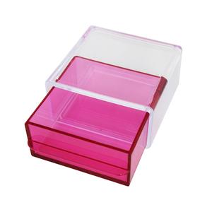 Porta Treco Plástico Rosa 5,5x10,5x11