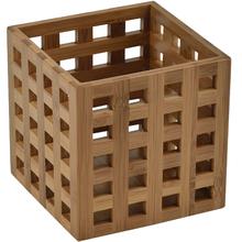 Porta Utensílios 12x12x14cm Bamboo Importado