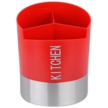 Porta Utensílios para Cozinha Vermelho Importado