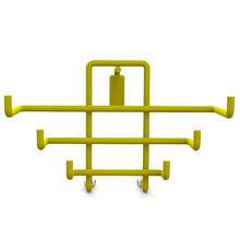 Porta Utensílios Slim Flutuare Amarelo 4077 Domo