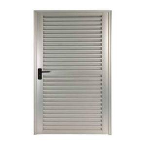 Porta Veneziana Aluminio L30 Branco 215 x 80 x 6,6 cm Jap