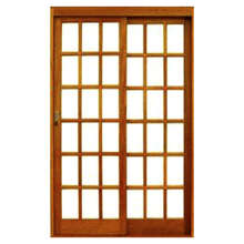 Porta Vidrinho Correr 2fls 215x160x14 c arana