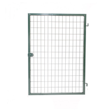 Portão Aço Verde 180x70cm