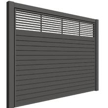 Portão de Aço Garagem Palmas Basculante 285x250cm Mega Portões